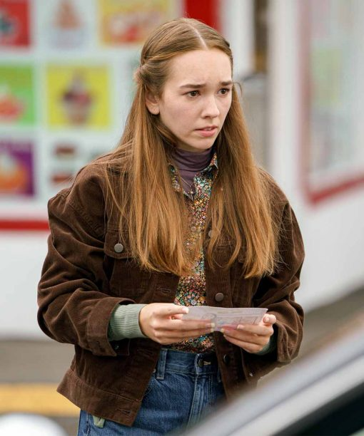 Holly Taylor Manifest S03 Brown Jacket