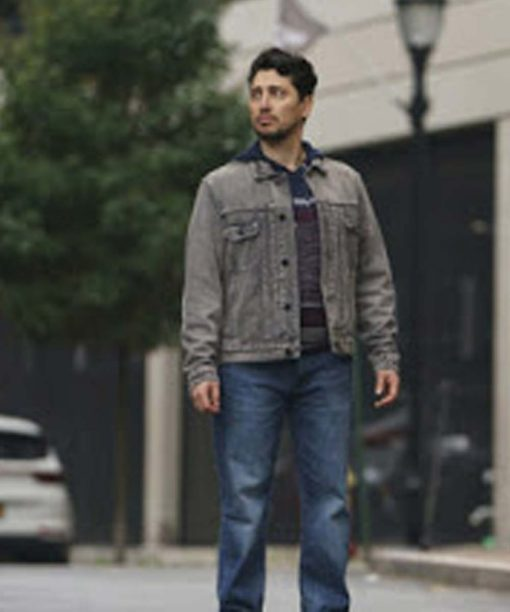 Manifest S03 Ali Lopez-Sohaili Denim Jacket