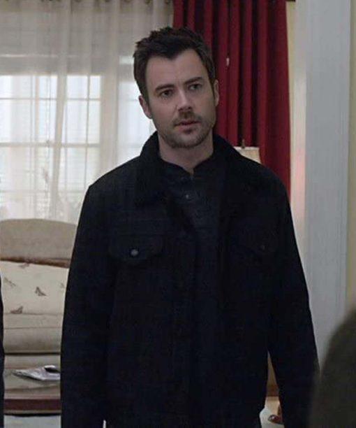 Matt Long Manifest S03 Black Jacket