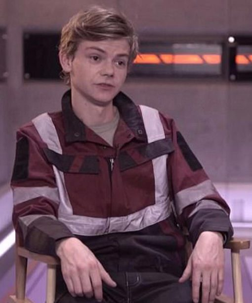 Thomas Brodie-Sangster Maze Runner The Death Cure Red Jacket