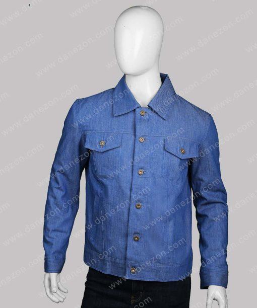 Mens Denim Blue Jacket