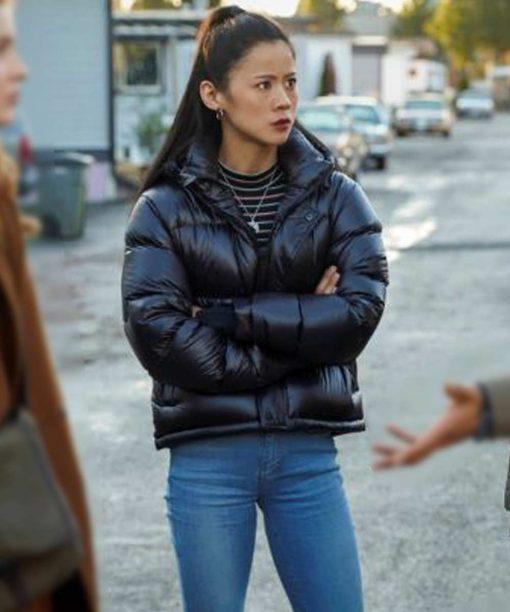 Nancy Drew Leah Lewis Puffer Jacket