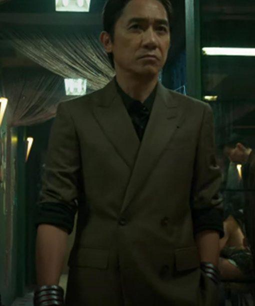 Tony Chiu-Wai Leung Double-Breasted Blazer