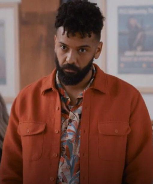 Ian Owens Shrill S03 Orange Jacket