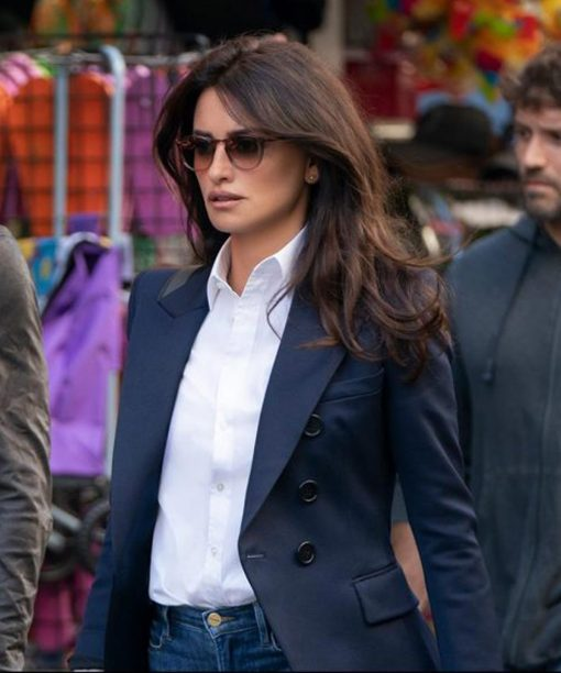 Penélope Cruz The 355 Double-Breasted Blazer