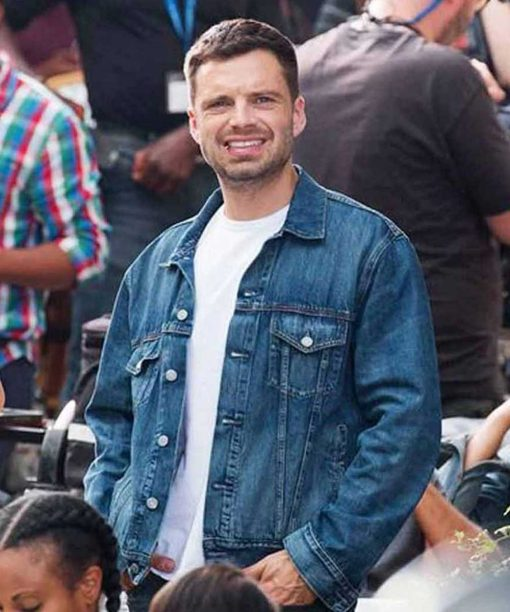 The 355 Sebastian Stan Denim Jacket