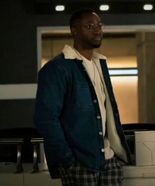 The Flash S07 Brandon McKnight Denim Jacket