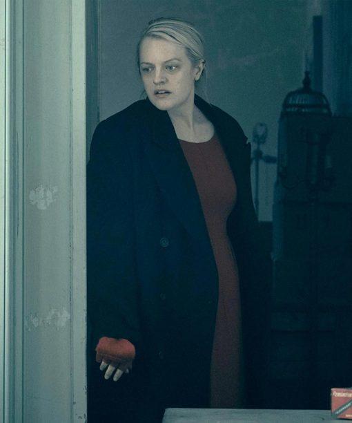 Elisabeth Moss The Handmaid's Tale Trench Coat