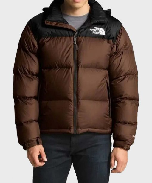 The North Face Brown Hooded Jacket