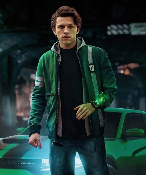 Ben 10 Tom Holland Bomber Jacket