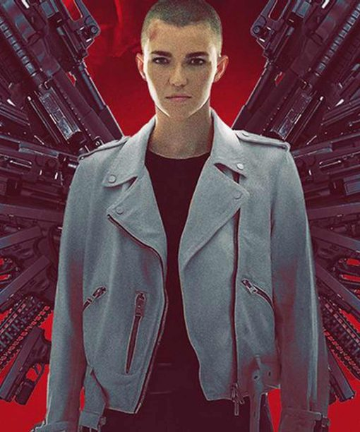 Vanquish Ruby Rose Leather Jacket
