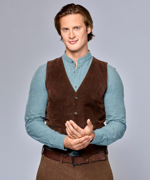 When Calls the Heart Aren Buchholz Brown Vest