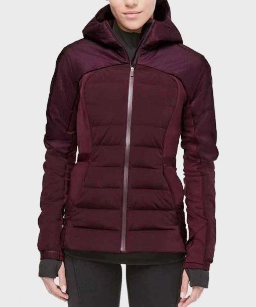 Zero Chill Grace Beedie Maroon Padded Jacket