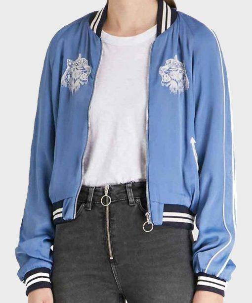 Fate The Winx Saga Aisha Blue Bomber Jacket