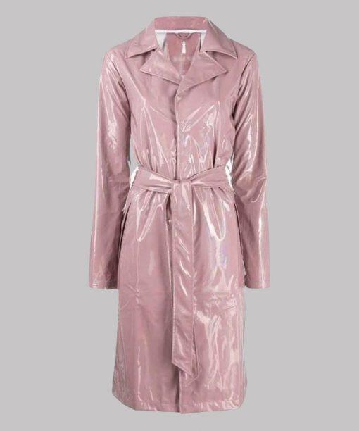 Fate The Winx Saga Hannah van der Westhuysen Pink Coat