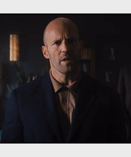 Jason Statham Wrath of Man (2021) H Blue Blazer