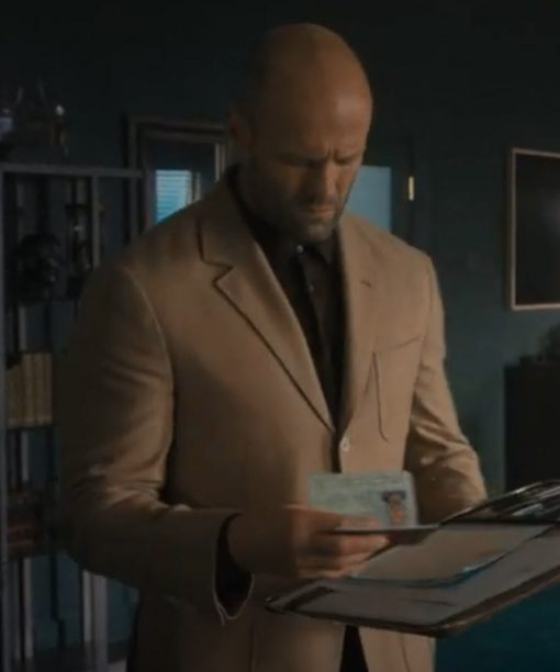 Jason Statham Wrath of Man (2021) Brown Blazer