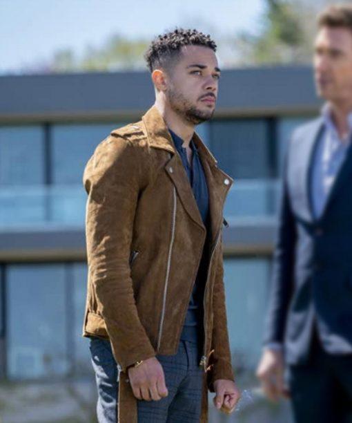 Law & Order Nick Creegan Leather Jacket