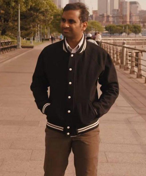 Master of None Aziz Ansari Black Bomber Jacket