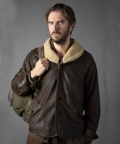 Dan Stevens Solos Leather Jacket