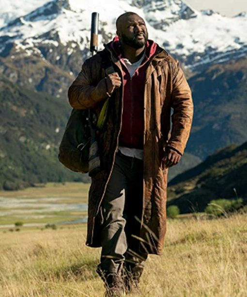 Sweet Tooth 2021 Nonso Anozie Brown Long Coat