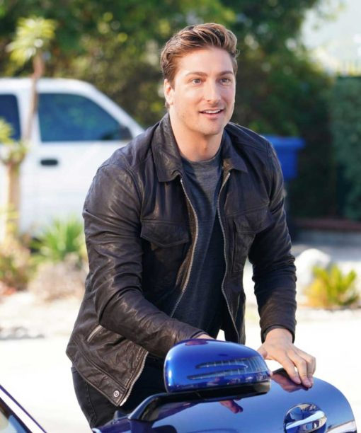When Calls The Heart Daniel Lissing Leather Jacket