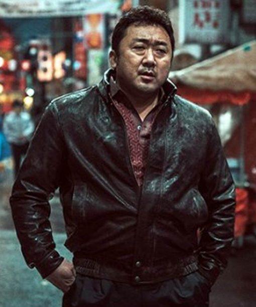 Eternals 2021 Ma Dong-seok Leather Jacket