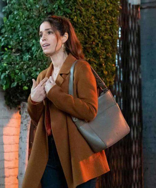 Ana Ortiz Love, Victor S02 Brown Coat