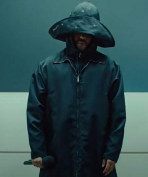 The Weeknd Black Jacket