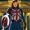What If Peggy Carter Leather Jacket
